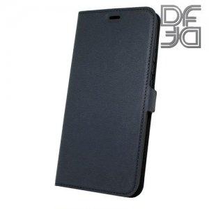 DF флип чехол книжка для Huawei Nova 5T - Черный