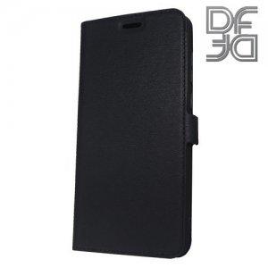 DF флип чехол книжка для Huawei Honor 7A Pro/ 7C - Черный
