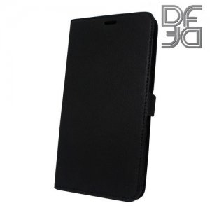 DF флип чехол книжка для Huawei Honor 7X - Черный