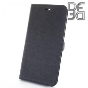 DF флип чехол книжка для Huawei Honor 8 Pro - Черный