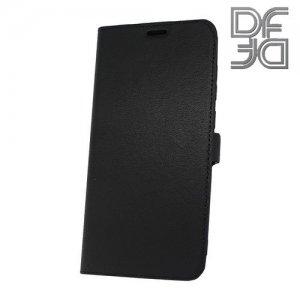 DF флип чехол книжка для Huawei Honor 8C - Черный