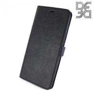 DF флип чехол книжка для Huawei Honor 9 - Черный