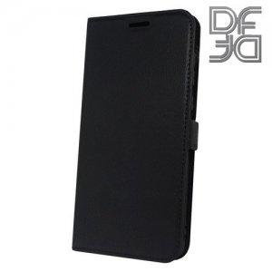 DF флип чехол книжка для Huawei Honor View 10 (V10) - Черный