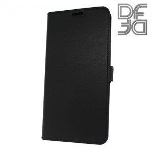 DF флип чехол книжка для Huawei Mate 20 - Черный