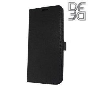 DF флип чехол книжка для Huawei Mate 20 Pro - Черный