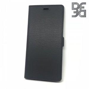 DF флип чехол книжка для Huawei Mate 30 - Черный