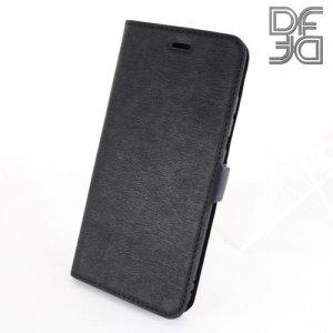 DF флип чехол книжка для Huawei Nova 2 - Черный