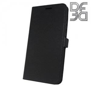 DF флип чехол книжка для Huawei Nova 3 - Черный