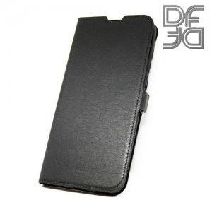DF флип чехол книжка для Huawei nova 4 - Черный