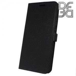 DF флип чехол книжка для Huawei P smart+ / Nova 3i - Черный