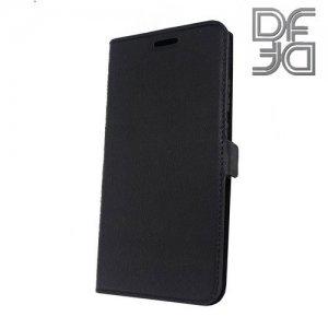 DF флип чехол книжка для Huawei P20 - Черный