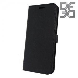 DF флип чехол книжка для Huawei P20 Lite - Черный