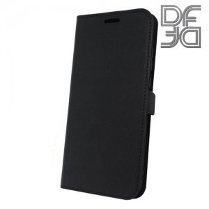 DF флип чехол книжка для Huawei P20 Pro - Черный
