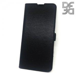 DF флип чехол книжка для Huawei P30 Lite - Черный