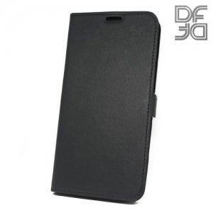 DF флип чехол книжка для Meizu M6 - Черный