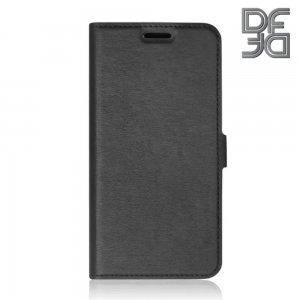 DF флип чехол книжка для Samsung Galaxy A51 - Черный