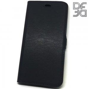 DF флип чехол книжка для Samsung Galaxy A80 / A90 - Черный