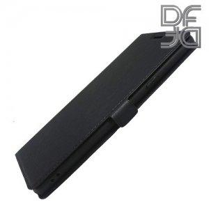 DF флип чехол книжка для Samsung Galaxy Note 9 - Черный