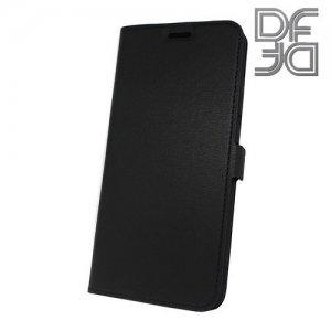 DF флип чехол книжка для Xiaomi Mi 8 Lite - Черный