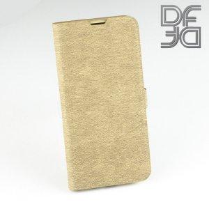 DF флип чехол книжка для Xiaomi Mi 9 / Mi 9 Explore - Золотой