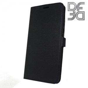 DF флип чехол книжка для Xiaomi Mi A2 / Mi 6X - Черный