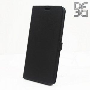 DF флип чехол книжка для Xiaomi Mi Max 3 - Черный