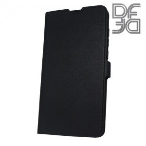 DF флип чехол книжка для Xiaomi Mi Mix 2s - Черный