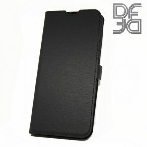 DF флип чехол книжка для Xiaomi Mi Mix 3 - Черный