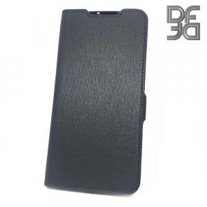 DF флип чехол книжка для Xiaomi Mi Note 10 - Черный
