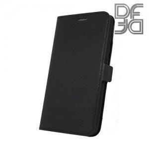 DF флип чехол книжка для Xiaomi Mi Play - Черный