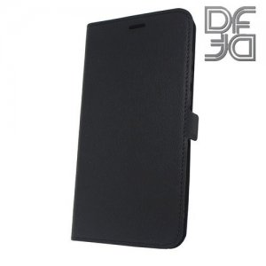 DF флип чехол книжка для Xiaomi Redmi 5 Plus - Черный
