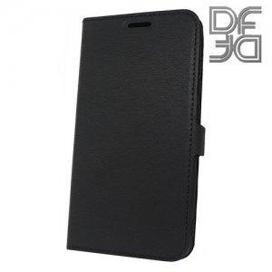DF флип чехол книжка для Xiaomi Redmi 6 - Черный