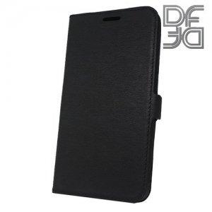 DF флип чехол книжка для Xiaomi Redmi 6a - Черный
