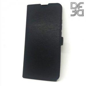 DF флип чехол книжка для Xiaomi Redmi 7 - Черный