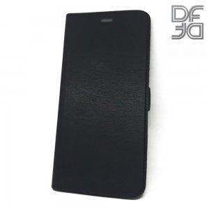 DF флип чехол книжка для Xiaomi Redmi 7A - Черный