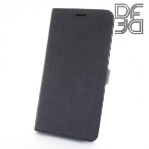DF флип чехол книжка для Xiaomi Redmi Note 4X - Черный