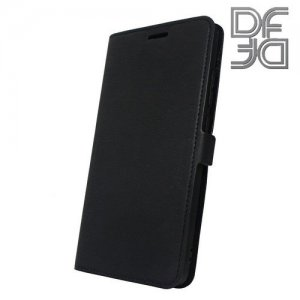 DF флип чехол книжка для Xiaomi Redmi Note 5 / 5 Pro - Черный