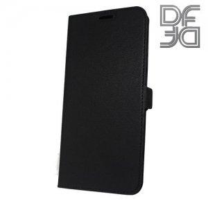 DF флип чехол книжка для Xiaomi Redmi Note 6 / Note 6 Pro - Черный