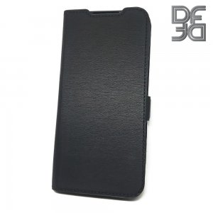 DF флип чехол книжка для Xiaomi Redmi Note 8T - Черный