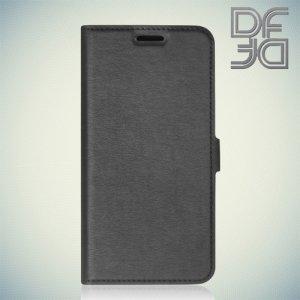 DF sFlip флип чехол книжка для Asus Zenfone 3 ZE552KL  - Черный