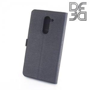 DF sFlip флип чехол книжка для Huawei Honor 6x - Черный