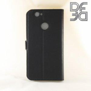 DF sFlip флип чехол книжка для Huawei nova - Черный