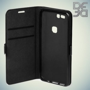 DF sFlip флип чехол книжка для Huawei P9 Plus - Черный