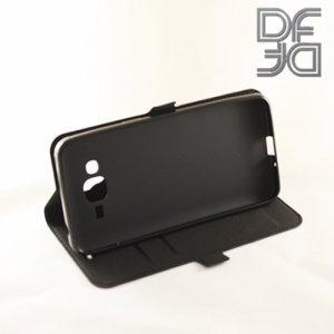 DF sFlip флип чехол книжка для Samsung Galaxy J2 Prime - Черный