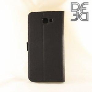 DF sFlip флип чехол книжка для Samsung Galaxy J5 Prime  - Черный