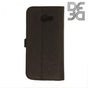DF sFlip флип чехол книжка для Samsung Galaxy A5 2017 SM-A520F - Черный