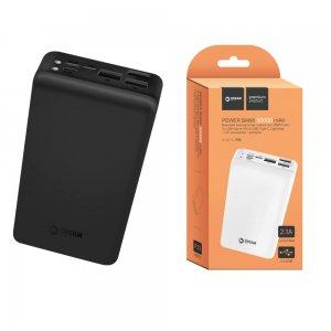 Dream P30 Внешний аккумулятор 30000 mAh 3 USB черный