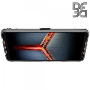 DF Ультратонкий прозрачный силиконовый чехол для Asus ROG Phone 2