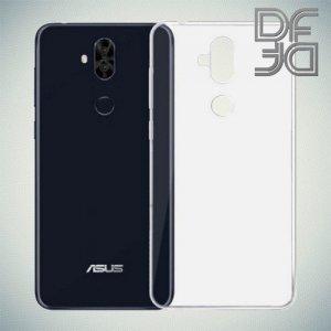 DF Ультратонкий прозрачный силиконовый чехол для Asus Zenfone 5 Lite ZC600KL