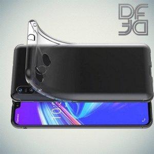 DF Ультратонкий прозрачный силиконовый чехол для Asus Zenfone Max M2 ZB633KL